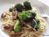 Porc & broccoli stir-fry