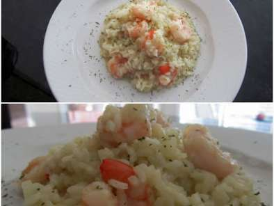 Rețetă Orez cu creveti/rice with shrimp/risotto ai gamberetti