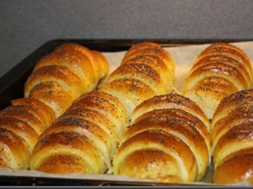 Croissant cu nutela