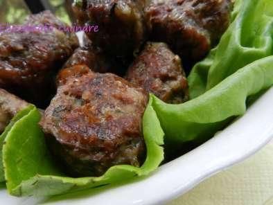 Chifteluțe dietetice de vită la cuptor