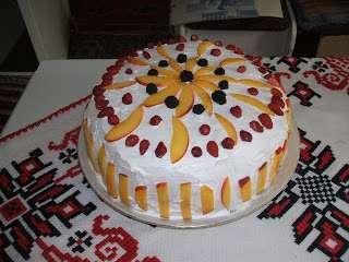 Modele de tort cu fructe