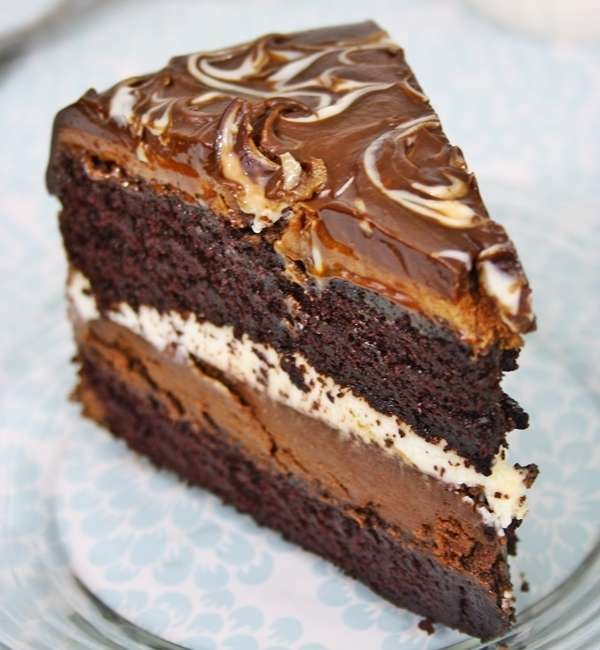 Tort Ciocolata Tuxedo