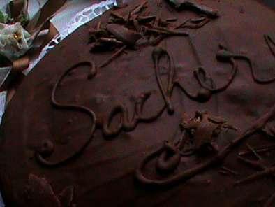 Tort Sacher Cu Glazura De Ciocolata Cu Lapte Rețetă Petitchef